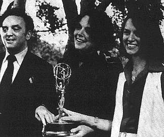 1977 Writing Emmy, with Mary Munisteri